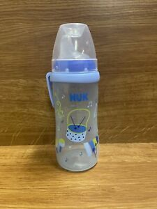 NUK Active Sippy Cup 10oz Blue Musical Instrument Pattern