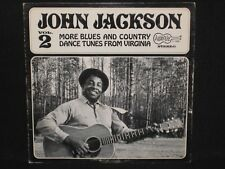 JOHN JACKSON ~ Vol 2 More Blues & Country Dance Tunes ~ U.S. ARHOOLIE - 1968 EX