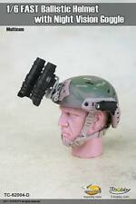 1/6 Toys City 62004D FAST Ballistic Helmet with Night Version Google