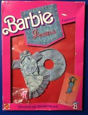 1988 New in Box Barbie Dressed-up Denim Blues Fashions Style #1688