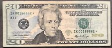 USA 20 Dollar Series 2006 STAR NOTE ERSATZNOTE Selten Banknote Schein #8686