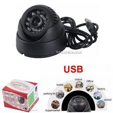 K802 Home Security Camera USB TF Card Slot CCTV DVR Infrared Dome Night Vision