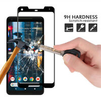 For Google Pixel 2 / 2XL 3D Curved Premium Tempered Glass Screen Protector