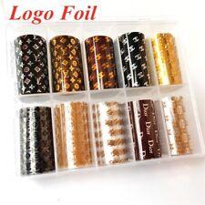 Nail Foil Transfers Logo Foil For Nails Brand Foil Wraps