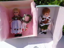 MINT! MADAME ALEXANDER HANSEL AND GRETEL DOLLS, #26605 AND 26600 WITH ORIG BOXES