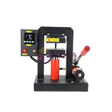 Rosin Press Manual Hydraulic High Pressure Double Heated Heat Press Machine