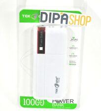 Batteria Esterna Power Bank Portatile TeKone 10000mah Smartphone Tablet Ross hsb