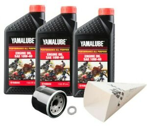 Tusk / Yamalube Oil + Filter Change Kit Yamaha Grizzly 450 550 660 700 2002-2014