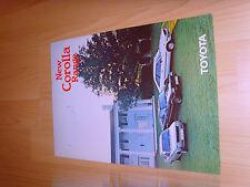 Car brochures 1979 Toyota brochur from 1979 Corolla