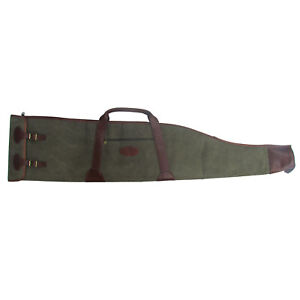 Vintage Canvas&Leather Gun Carry Bag Rifle Case Padded -Special Offer