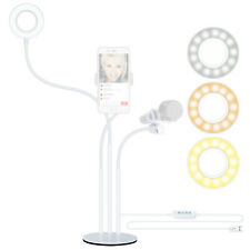 Neewer Led Selfie Ring Light with Cell Phone Holder and Microphone Holder