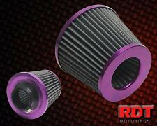 "Purple Air Intake Filter 3"" Inch Cone Style Performance CAI SRI Purple Housing"