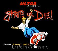 Skate Or Die - Classic NES Nintendo Game