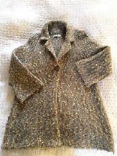 Beautiful SUSAN BRISTOL Chunky Cardigan/ Jacket With Alpaca-size 14. Natural VGC