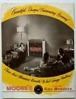 1950s Moore's Vented Gas Heaters Sales Advertising Brochure Chicago IL Appliance photo