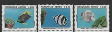 HONDURAS 1993 FISH MARINE LIFE 3 VALUES SET MNH SCOTT C931/33 MI1239/41