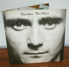 Phil Collins / Face Value / LP / VINYLE ORIGINAL 1981 ATLANTIC RECORDS