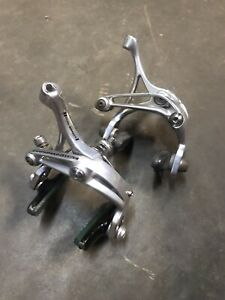 🔥🔥 Campagnolo Veloce Silver Skeleton Dual Pivot Brake Calipers