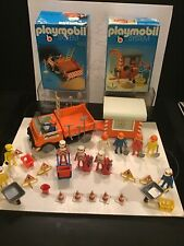 PLAYMOBIL SYSTEM 3110 - 3118 - 3201 - 3203 - 3207   TRAVAUX PUBLIC  1974 KLICKY