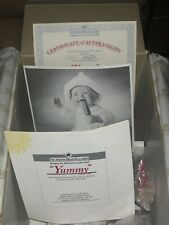Ashton Drake Galleries Porcelain Doll Yummy with Certificate in box