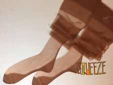 6 Pair's Nylon Flat Knit 15D Cuban Vintage Self-Seamed Stockings 11 X 35 M Penny