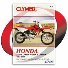 2004-2009 Honda CRF100F Repair Manual Clymer M222 Service Shop Garage
