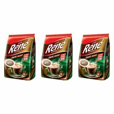 Rene 0007850 Luxury Café Cremé Coffee Pods Dark Roast 108 (3 Bags)