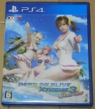 Japanese Ps4 Game Dead Or Alive Xtreme 3 Scarlet English Subtitles