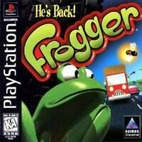 Frogger - PS1 PS2 Complete Playstation Game