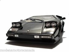 1982 LAMBORGHINI COUNTACH LP500 S BLACK 1:18 KYOSHO BRAND NEW IN BOX OLD RELEASE
