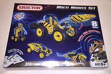 Erector Multi Model Set Rare #837532E 8 Models