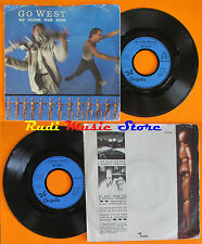 LP 45 7'' GO WEST We close our eyes Missing persons 1985 CHRYSALIS cd mc dvd