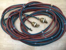 Oxygen & Acetylene Set of Tubes/Hoses with Flash Back Arrestors