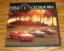 Original 1984 Oldsmobile Firenza Omega Firenza Cruiser Deluxe Sales Brochure 84