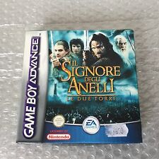 IL SIGNORE DEGLI ANELLI LE DUE TORRI GAME BOY ADVANCE LORD OF RINGS TWO TOWERS#