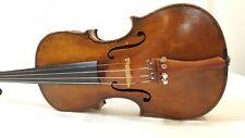 Violín violin violon violino ALT vieja old carteles brand Label Cremona 3/4