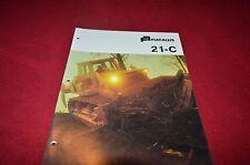 Fiat Allis Chalmers 21-C Crawler Tractor Dozer Dealers Brochure YABE11 vr2