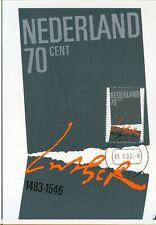 Nederland Maximumkaart(en) R65 W afgestempeld op 1e dag van uitgifte 1983