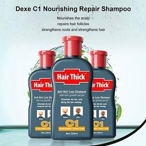 Dexe 200ml C1 China Herbal Hair Reborn Growth Shampoo Anti Hair Loss Treatment .
