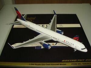 "Gemini Jets 200 Delta Air Lines DL B757-200WL ""2007s Color"" 1:200 DIECAST"