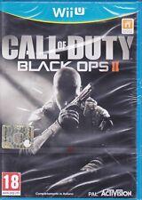 Nintendo Wii U «CALL OF DUTY BLACK OPS II ~ COD 2» nuovo sigillato italiano