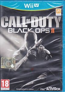Nintendo Wii U CALL OF DUTY BLACK OPS II - COD 2 nuovo sigillato italiano