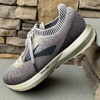 Brooks Levitate 2 Men's Black/Grey/Silver Fit Running Shoes Size 9 Medium (B)