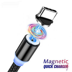 Cable Type C micro USB Magnétique Galaxy Xperia Xiaomi iPhone Huawei Oppo Poco