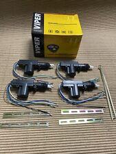 Viper 3100V Keyless Entry Car Alarm System +(4) Universal Door Lock Actuator