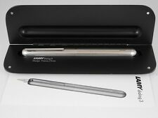 Lamy Dialog 3 Palladium Coated Fountain Pen MINT