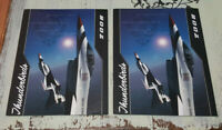 USAF Thunderbirds 2008 Official Programs Magazines