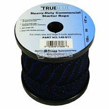 100' 146-911 True Blue Starter Rope / #4 Solid Braid  Lawnmower Lawn Mower