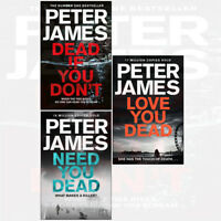Roy Grace Series By Peter James 3 Books Collection Set Dead If You Don't NEW