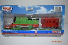 Thomas and & Friends ~Trackmaster ~Percy~Motorzied ~HIT Entertainment~ NIP~NEW